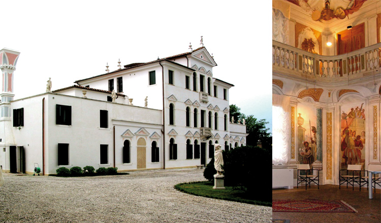 Villa settecentesca Cà Zenobio, Treviso